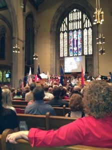 1st Methodist Church, Tulsa, OK--Armed Forces Salute--June 30th, 2013